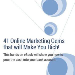 41 Online Marketing Gems